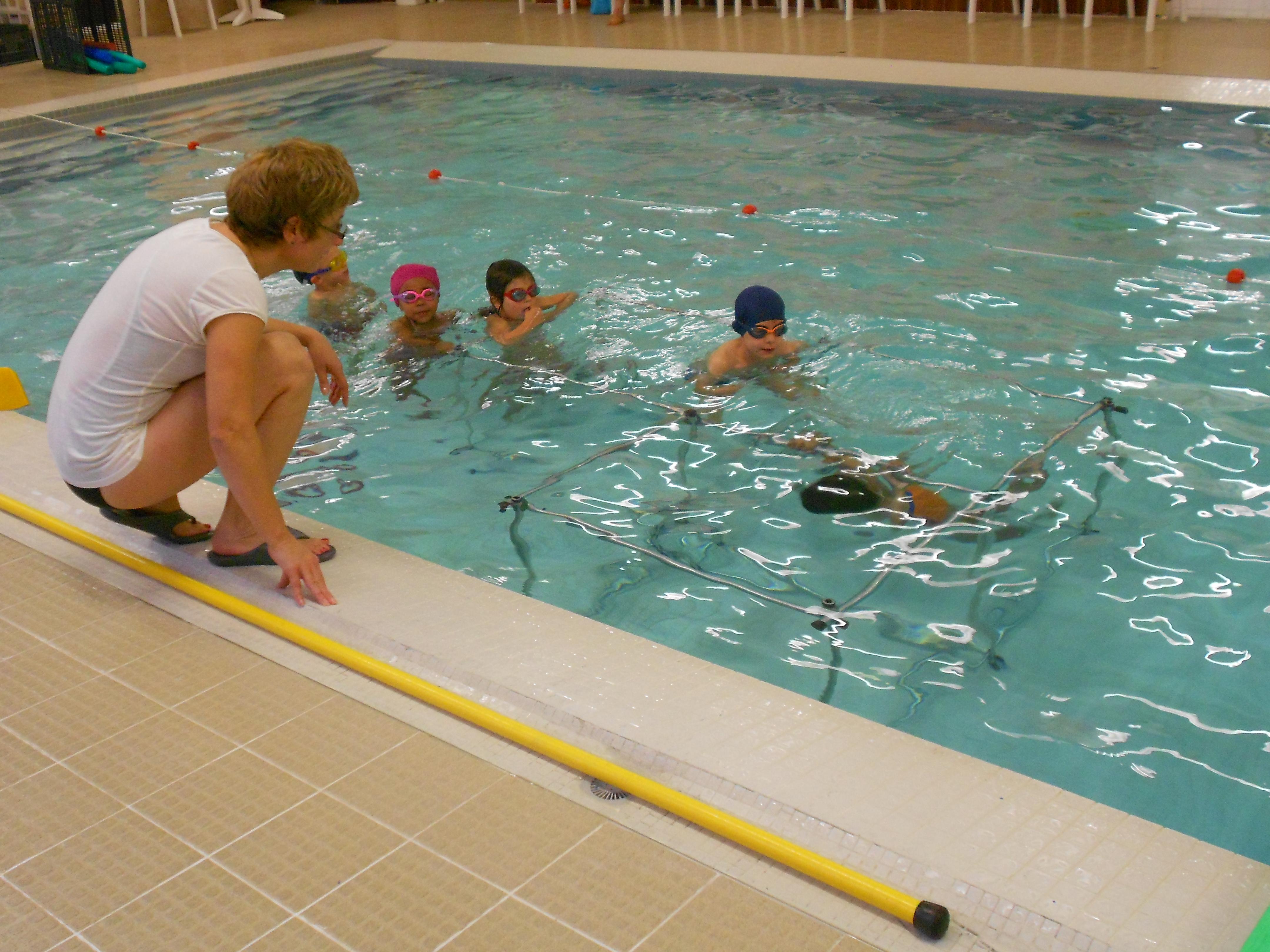 piscine joué les tours
